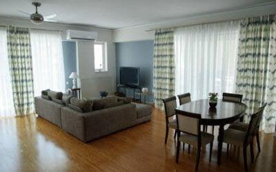 Kalamata Top Rooms - Comfortable spacious central apartment FIL27 - Living room