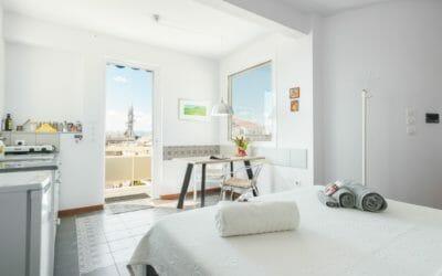 Kalamata Top Rooms City Penthouse ENA interior living area