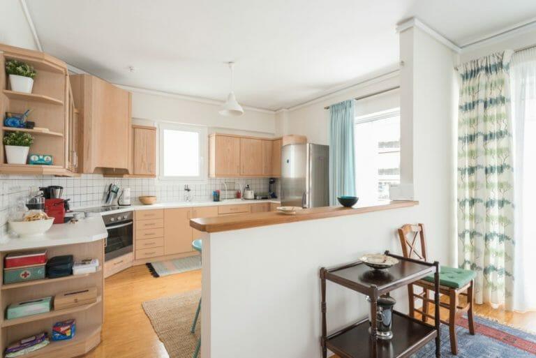 Kalamata Top Rooms FIL27 Comfortable spacious apartment at central position. Kitchen