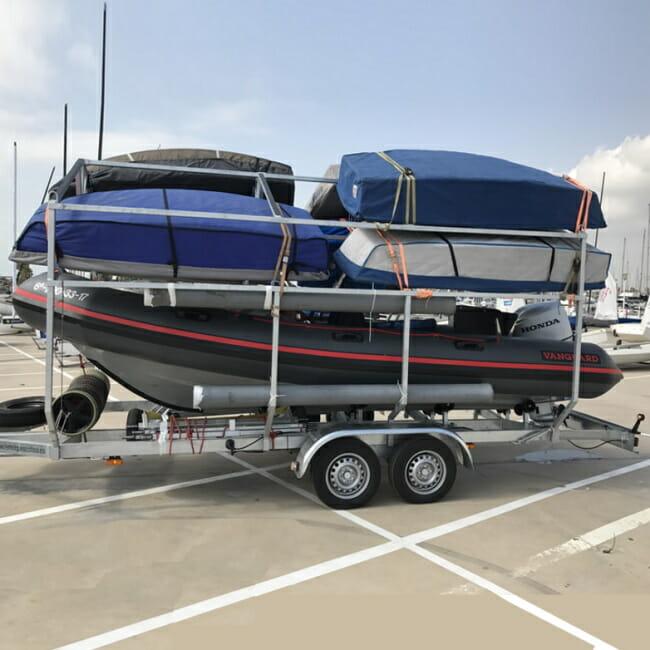 dinghy sailing in Kalamata dinghies transport