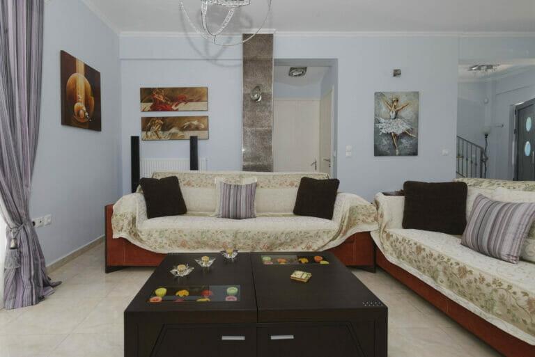 Santova Hill apartment 'Luxi, living room