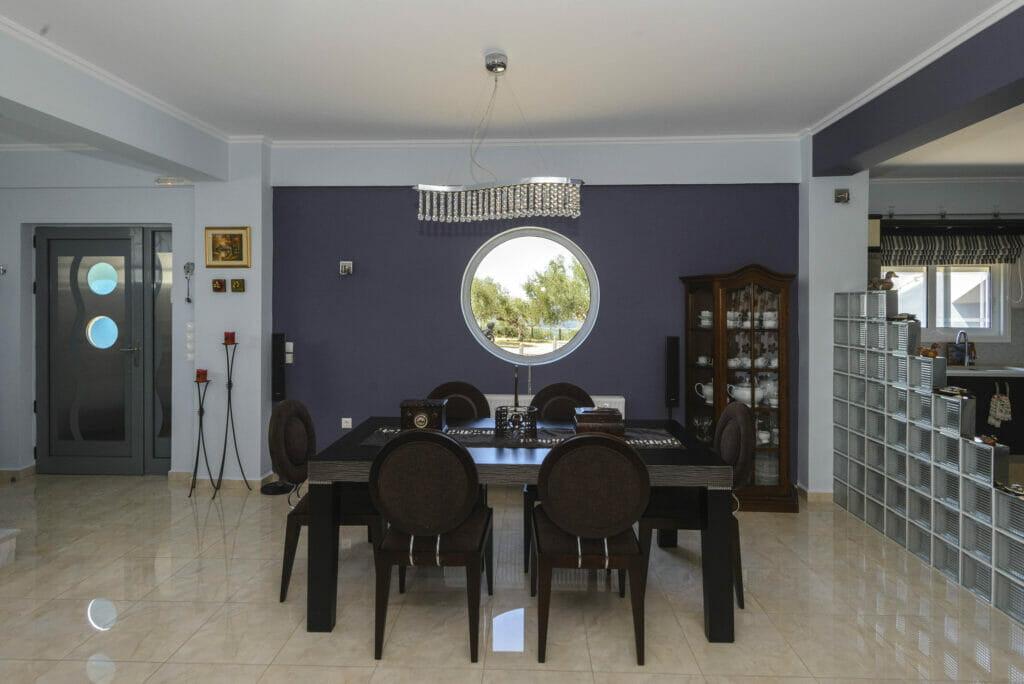 Santova Hill apartment 'Luxi, large dinning area