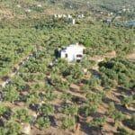 Villa Orea Elena Santova / Birds eye view from the North